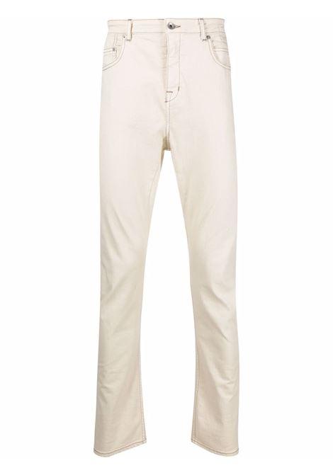 denim detroit cut man natural in cotton RICK OWENS DRKSHDW | Trousers | DU02A3366 SDW21