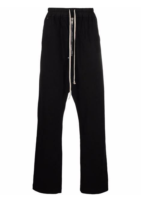 bela pants man black in cotton RICK OWENS DRKSHDW | Trousers | DU02A3377 RIG09