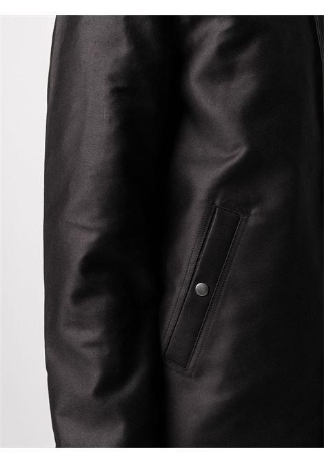 snap front jacket man black RICK OWENS DRKSHDW | Jackets | DU02A3782 NDK09