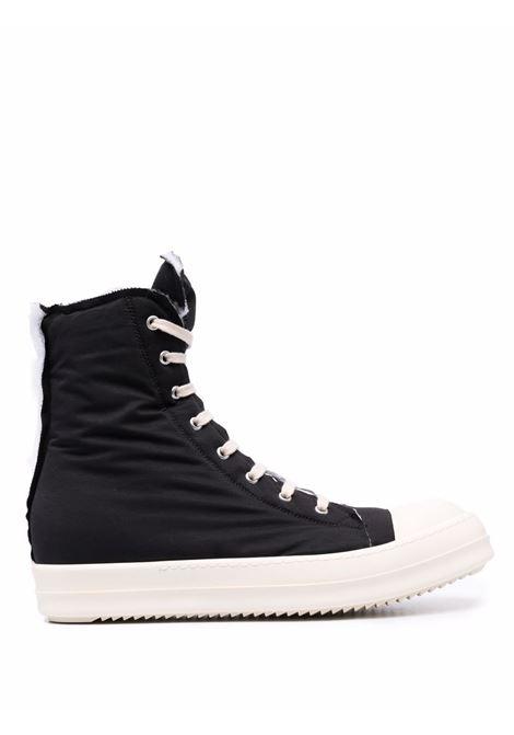 padded sneakers man black in tissue RICK OWENS DRKSHDW | Sneakers | DU02A3800 MU911