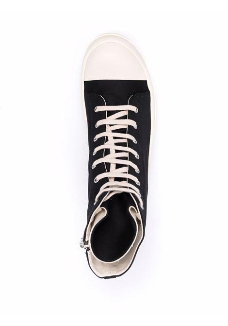 high sneakers man black in tissue RICK OWENS DRKSHDW | Sneakers | DU02A3800 NDKEH2911