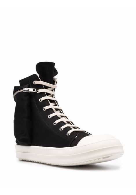cargo sneakers man black in polyester RICK OWENS DRKSHDW | Sneakers | DU02A3801 NDK911