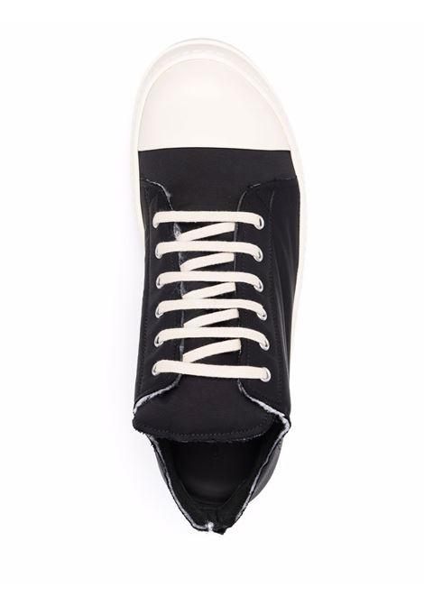 padded sneakers man black in leather RICK OWENS DRKSHDW | Sneakers | DU02A3802 MU911