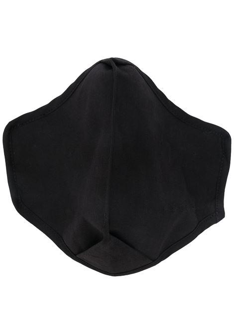 logo mask man black in cotton RICK OWENS | Face Mask | RR02A5452 P09