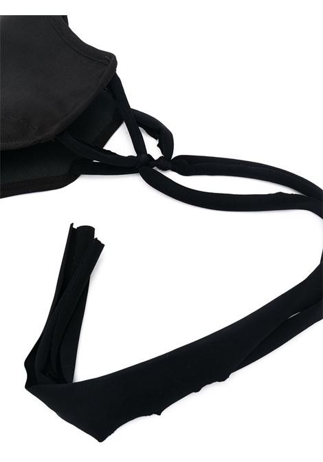 mascherina con logo uomo nera in cotone RICK OWENS | Mascherine | RR02A5452 P09