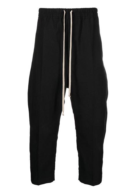 pantaloni cavallo basso RICK OWENS | Pantaloni | RU02A5395 CVR09
