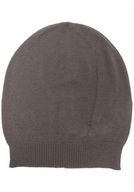 cappello in cashmere uomo grigio RICK OWENS | Cappelli | RU02A5494 WS34