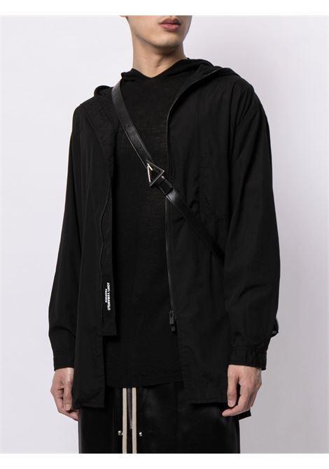 wool hoodie man black RICK OWENS | Sweatshirts | RU02A5623 M09