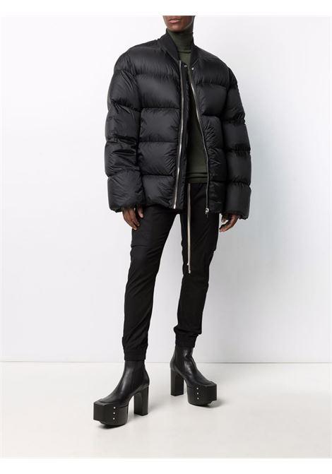 oversized down jacket man black RICK OWENS | Jackets | RU02A5788 NZD309
