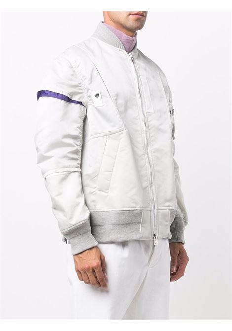 bomber uomo grigio SACAI | Giacche | 21-02581M376