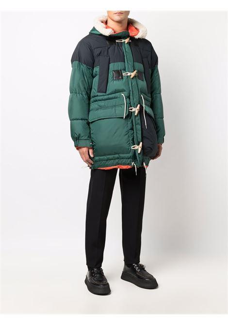 cappotto imbottito uomo bicolor SACAI | Cappotti | 21-02643M552