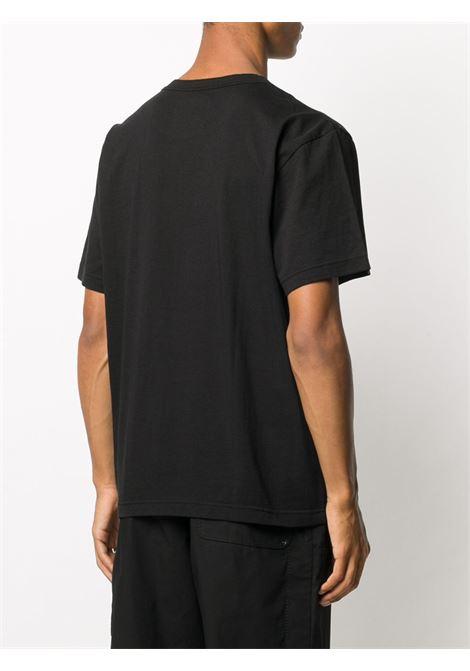 t-shirt con taschino uomo nera in cotone SACAI | T-shirt | SCM-034001