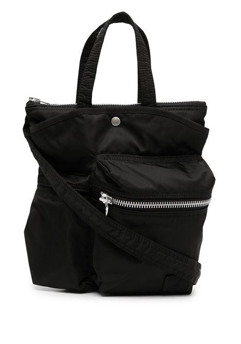 tote bag with pockets black unisex SACAI | Bags | SCU-005001