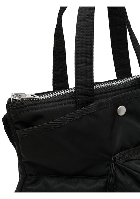 borsa tote con tasche nera unisex SACAI | Borse | SCU-005001