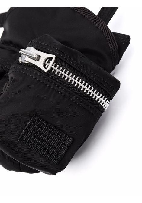 borsa a tracolla piccola unisex nera in nylon SACAI | Borse | SCU-006001