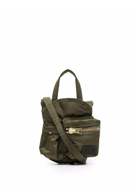 borsa a tracolla piccola unisex khaki in nylon SACAI   Borse   SCU-006501