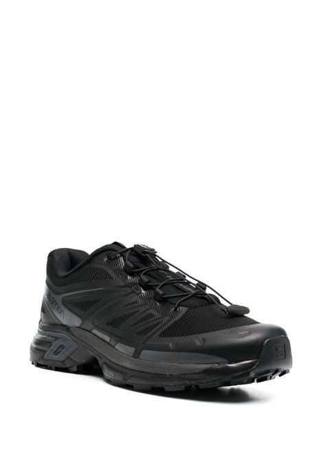 xt wings 2 sneakers man black in tissue SALOMON S/LAB | Sneakers | L41085700BLACK
