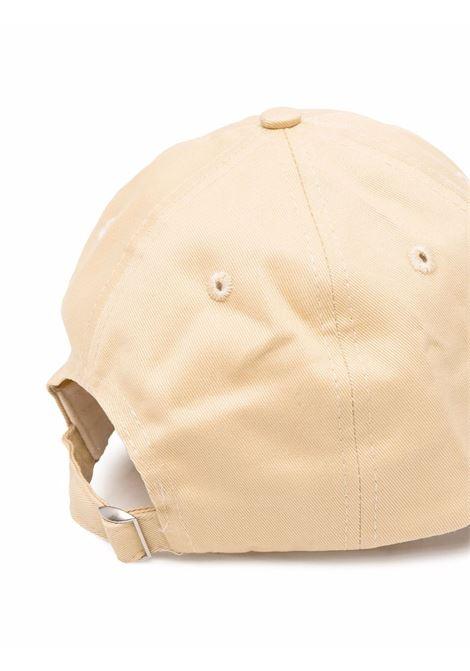 80s Fitness hat Beige Unisex Cotton SPORTY & RICH | Hats | AC163CP