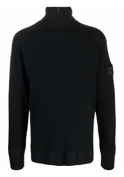 maglione a collo alto uomo nero in lana STONE ISLAND SHADOW PROJECT | Maglieria | 7519506A1V1029