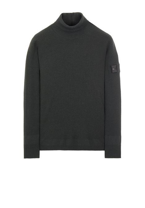 turtleneck sweater man black in wool STONE ISLAND SHADOW PROJECT | Sweaters | 7519506A1V1029