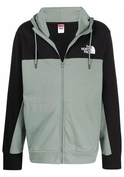 himalayan full hoodie man green and black in cotton THE NORTH FACE | Sweatshirts | NF0A4SWMHBS1