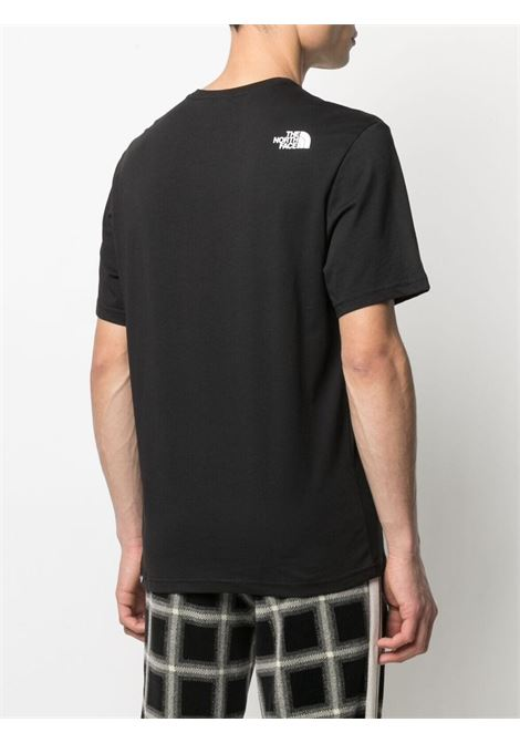 logo t-shirt man black in cotton THE NORTH FACE | T-shirts | NF0A4SZUJK31