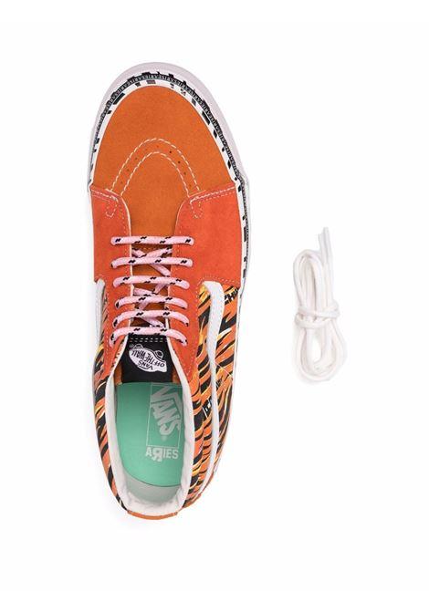 aries ua og sk8 mid sneakers unisex orange VANS VAULT X ARIES | Sneakers | VN0A4BVC9WW1