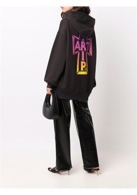 hoodie with print man black in cotton VANS VAULT | Sweatshirts | VN0A5GYEZ0J1