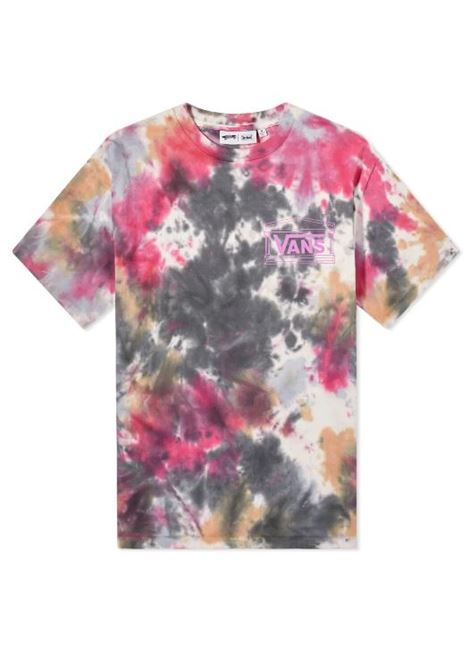 t-shirt tie die uomo multicolor in cotone VANS VAULT   T-shirt   VN0A5GYJYZC1