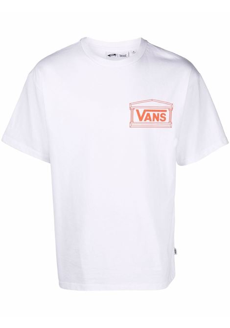 logo t-shirt man white in cotton VANS VAULT | T-shirts | VN0A5GYKYZW1