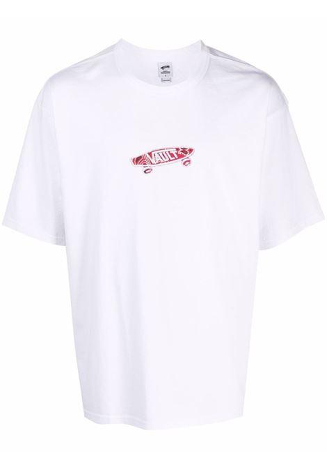 t-shirt con logo uomo bianca in cotone VANS VAULT X BEDWIN | T-shirt | VN0A4VLOWHT1