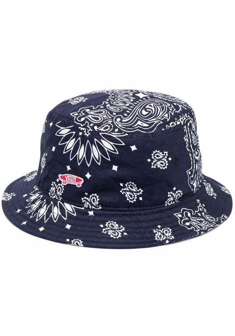 bucket hat unisex blue in cotton VANS VAULT | Hats | VN0A4VLQZE51