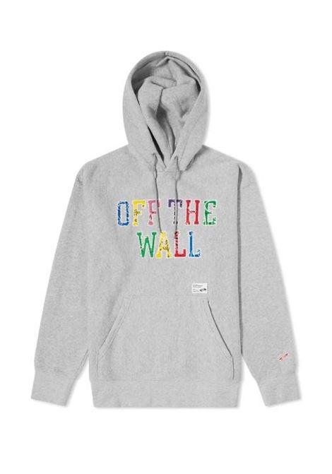 logo hoodie man gray in cotton VANS VAULT | Sweatshirts | VN0A5EA202F1