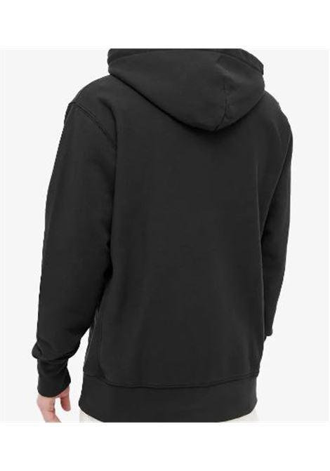 Felpa con cappuccio nera uomo in cotone VANS VAULT | Felpe | VN0A5E1OBLK1