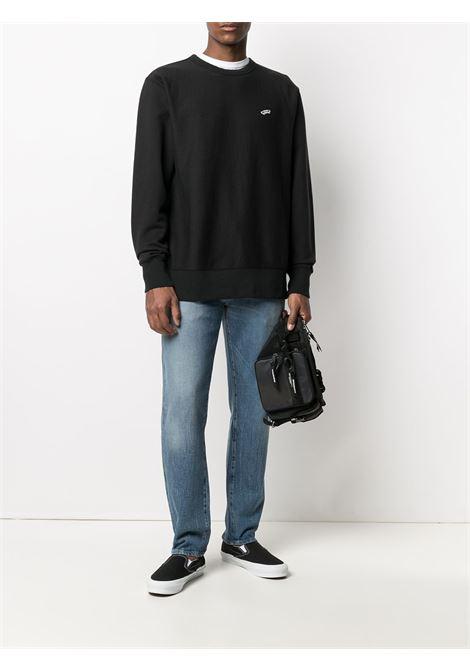 Logo sweatshirt black man in cotton VANS VAULT | Sweatshirts | VN0A5FFCBLK1