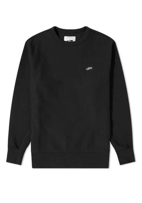 Felpa con logo nera uomo in cotone VANS VAULT | Felpe | VN0A5FFCBLK1