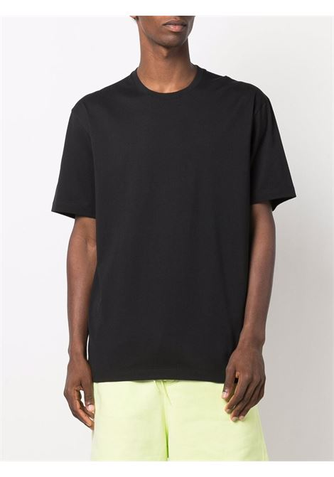 logo t-shirt unisex black in cotton Y-3 | T-shirts | FN3348BLACK