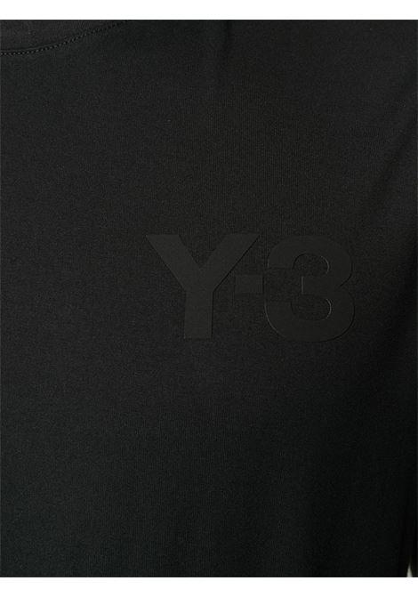 logo t-shirt man black in cotton Y-3 | T-shirts | FN3358BLACK