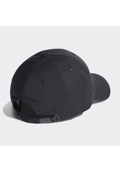 logo hat man black in cotton Y-3   Hats   HA6530BLACK