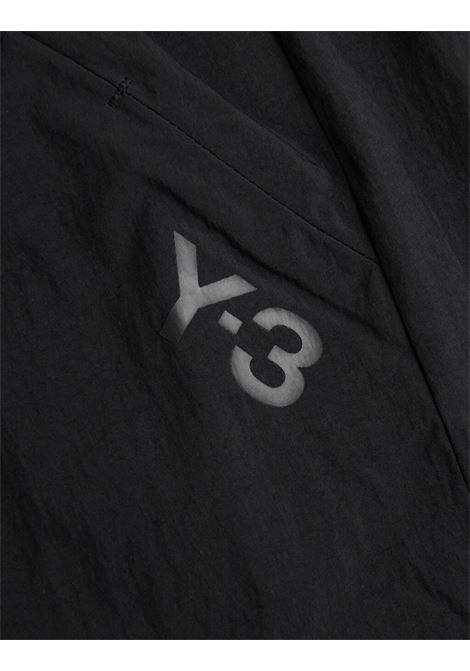 running shorts man black in polyester Y-3 | Shorts | HB2784BLACK
