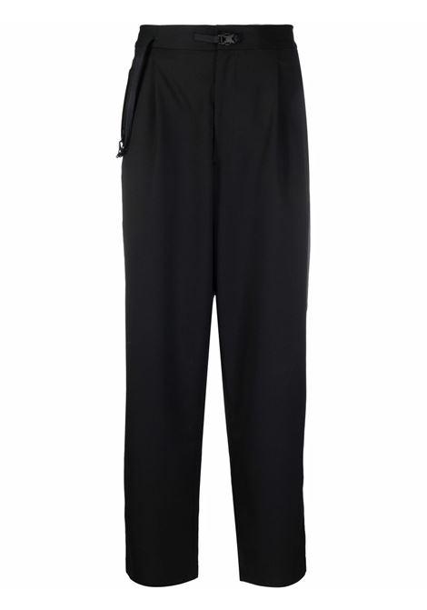 straight crop trousers man black  Y-3 | Trousers | HB3387BLACK