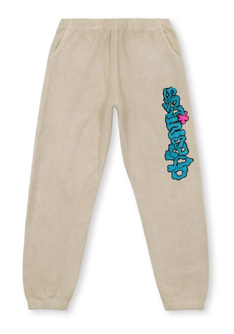 slime sweatpant man natural in cotton BRAIN DEAD | Trousers | F21B00002195NATURAL