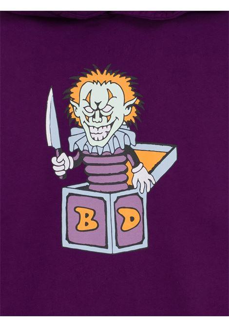 felpa clownin uomo viola in cotone BRAIN DEAD | Felpe | F21T09001946PURPLE