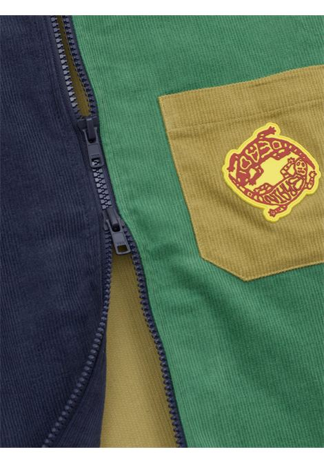 zip shirt man multicolor in cotton BRAIN DEAD | Shirts | F21T16001891MULTIPLE