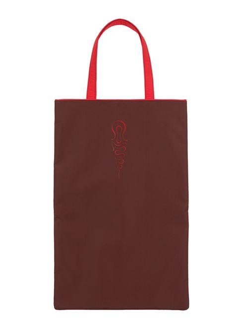 shopper bag unisex brown in tissue COLMAR A.G.E. | Bags | AC107257