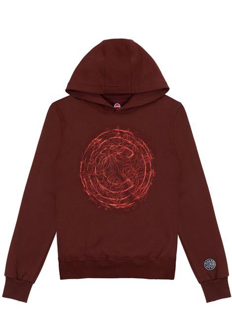 hoodie man brown in cotton COLMAR A.G.E. | Sweatshirts | CF108257