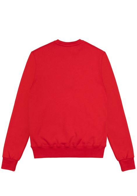 felpa con stampa uomo rossa in cotone COLMAR A.G.E. | Felpe | CF11042
