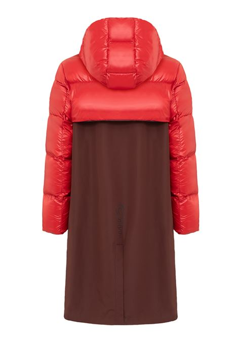 modular coat unisex brown and red COLMAR A.G.E. | Jackets | CO11442