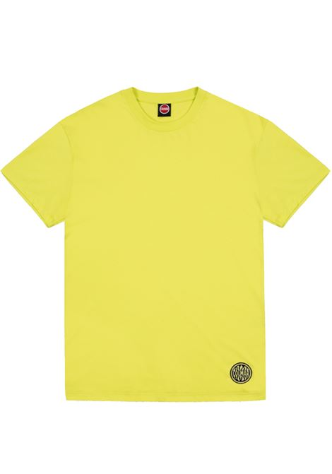 t-shirt with print man yellow in cotton COLMAR A.G.E. | T-shirts | CT106492