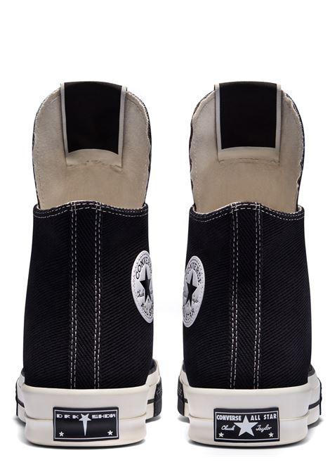 sneakers turbodrk hi uomo nere in tela CONVERSE X DRKSHDW | Sneakers | DC02AX765 CTDR191